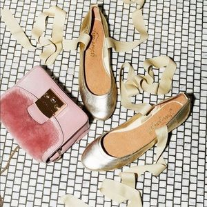 Free People Degas Ballet Flats NEW WITH BOX